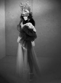 Tilda Swinton as Marchesa Casati by Paolo Roversi