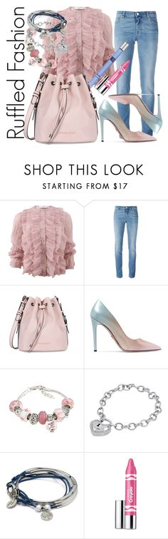 """""""The beautiful one"""" by lullulu ❤ liked on Polyvore featuring Givenchy, Armani Jeans, Prada, La Preciosa, Amanda Rose Collection, Lizzy James, Clinique and Thierry Mugler"""