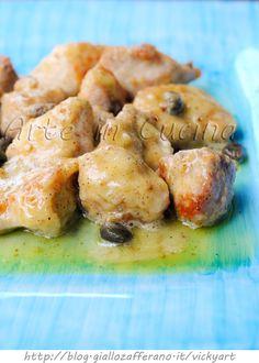 Bocconcini di tacchino al limone ricetta veloce vickyart arte in cucina