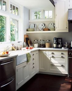 Small White Cottage Kitchen amazing kitchens for every style | small cottage kitchen, small