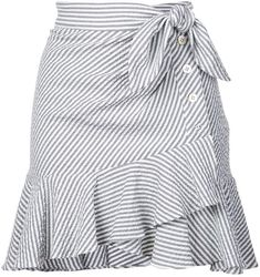 Shop online Veronica Beard knotted skirt as well as new season, new arrivals daily. Dress Outfits, Cute Outfits, Fashion Outfits, Fashion Trends, Fashion Women, African Fashion Dresses, African Dress, Veronica Beard, Gray Skirt