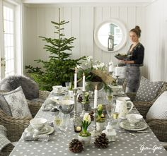 Greengate Beautiful Table Setting