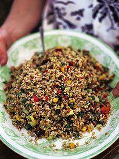 Roast Vegetable Salad | Vegetables Recipes | Jamie Oliver Recipes