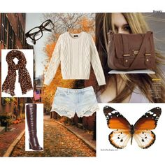 """Autumn-y"" by keerat-welham on Polyvore"