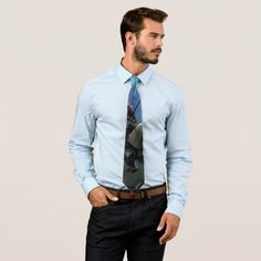 MidKnight Ride Men's Tie available at Zazzle