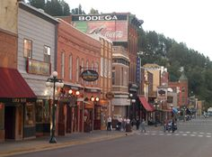 Historic Main Street, Deadwood SD