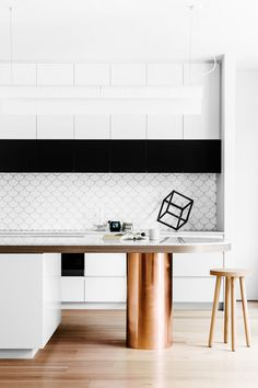 Less is more! Modern kitchen ideas//