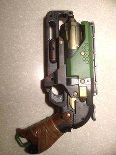 Nerf Gun Mod: Nerf Zombie Strike Hammershot - All