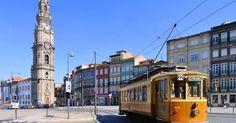 Passeio de Elétrico pelo Porto #viagem #lisboa #portugal