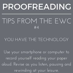 While #proofreading, listen to your heart...and your voice! #writingtips #writingaroundemory #writingcenter