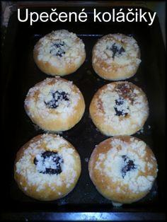 Moravské koláče (fotorecept) - recept | Varecha.sk Muffin, Baking, Breakfast, Food, Basket, Morning Coffee, Bakken, Essen, Muffins