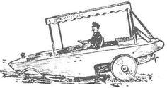 Рис. 1. Первый в мире автомобиль-амфибия. Amphibious Vehicle, 1, Vehicles, World, Amphibians, Car, Vehicle, Tools