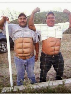 U Say You Like Guys With A Six Pack?