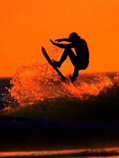 SUNSET SURFING, BALI #nature #beach #indonesia #surfing #travel