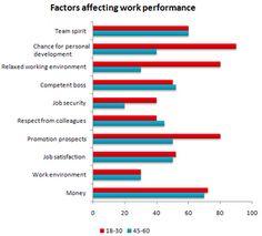 Bar Graph - Factors affecting their work performance