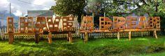 I Have A Dream Project installation displayed at front of Masas Wood Work Studio waiting for videos and images from Artists around the world whichwill be installed in 2016- Vancouver Biennale open air museum.   la instalacion para la Vancouver Biennale open air museum lista y a la espera de los videos enviados por los artistas participantes en el proyecto! un hueco es nuestro