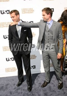 Gabriel Macht and Patrick J. Adams