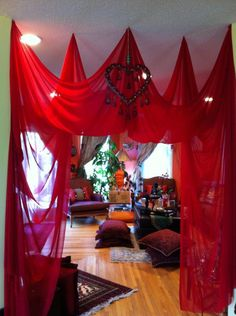 Red Tent Goddess Circle organized by Red Tent Goddess Facilitator, Honi Borden at PHI
