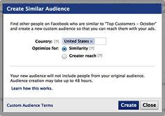 Facebook on Tuesday announced a new tool that allows marketers to reach audiences with characteristics that are similar to existing customers they are already targeting on the social network.