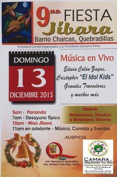 Fiesta Jíbara 2015 #sondeaquipr #fiestajibara #barriocharcas #quebradillas #festivalespr #turismointerno