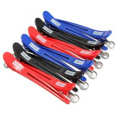 New 12Pcs Metal Professional Hairdressing Salon Section Hair Clip Hairgrip Styling Tool Headwear Accessories
