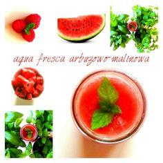 Aqua fresca arbuzowo - malinowa / Aqua fresca watermelon and raspberry