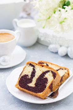 Babka piaskowa z kakao French Toast, Cooking Recipes, Breakfast, Ethnic Recipes, Polish, Morning Coffee, Vitreous Enamel, Chef Recipes