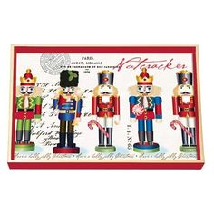 Michel Design Works - Nutcracker Sweet Decoupage Wooden Vanity Tray  #nutcrackers #christmas