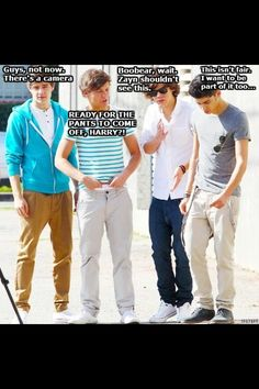 IK THEY'RE NOT GAY BUT IF YOU JUST THINK ABOUT IT AS HARRY PANTSING LOUIS IT'S NOT SO BAD I JUST HAD TO PIN IT'S TOO FUNNY XD