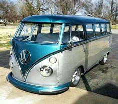 New volkswagen campers van ideas buses Ideas Volkswagen Bus, Volkswagen Transporter, Vw T1, Volkswagen Beetles, Classic Campers, Vw Classic, Bus Camper, Kombi Trailer, Carros Vw