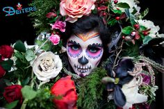 #makeup #costumes #flowers #halloween #behorror