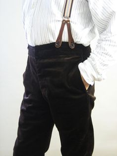 £85.00 + VAT  These traditional trousers are cut using authentic patterns and are made in a range of fabrics from hardwearing 8 wale cotton corduroy, cotton moleskin and a wide range of subtle cotton stripes