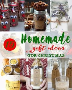 Homemade food gifts are super easy to make, affordable and unique!