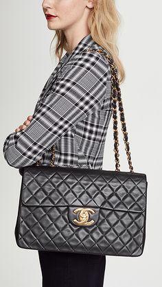 952608c6e2ca Chanel Jumbo 2.55 Shoulder Bag
