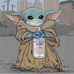 Yoda Images, Yoda Pictures, Cute Disney Wallpaper, Cute Cartoon Wallpapers, Yoda Drawing, Cuadros Star Wars, Yoda Funny, Star Wars Drawings, Star Wars Jokes