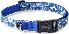 Chaco Dog Collar Blue Petal S #dogcollar