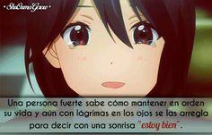 Una persona fuerte #ShuOumaGcrow #Anime #Frases_anime #frases