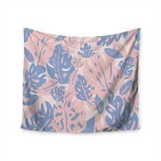 """Only available on @kessinhouse my wall tapestry of the """"Rose quartz & serenity jungle"""" made out of the two new @pantone of the year ! They're adding 25% off the price so why not have  a look?  Find it at : http://kessinhouse.com/collections/will-wild-rose-quartz-serenity-jungle/products/will-wild-rose-quartz-serenity-jungle-wall-tapestry  And more on my profile!  #willwild #graphicartist #promo #artist #graphic #tapestry #wallart #home #homedecor #interiordesign #follow #art #artist…"""