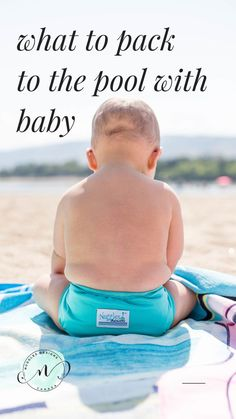 Ready for swimming lessons? Don& forget these essentials from swim diapers to towels and wet bags. Baby Swimming Lessons, Swim Lessons, Teach Baby To Swim, What Is Swimming, Baby Pool, Baby Baby, Diaper Cake Instructions, Diaper Brands, Diaper Wreath