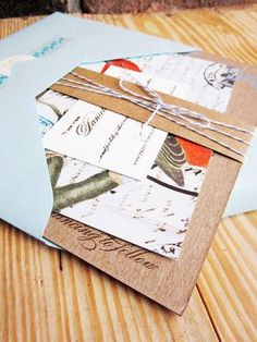 I love the variation within the set :] perfect for  destination wedding :D envelope in that royal blue to match the rooftops in Greece :]