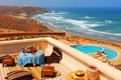 Morocco Scenic View from Ocean-view Hotel Room!