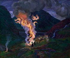 Nikolai Astrup – Norsk kunstnerleksikon