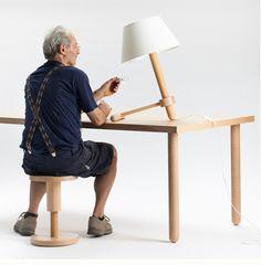 avvitamenti furniture collection by carlo contin for subalterno1 - designboom   architecture & design magazine