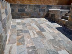 Swimming Pool Tiles, Swimming Holes, Swimming Pool Designs, Small Pool Design, Bourbon, Living Room Designs, Farmhouse Style, Tile Floor, Sweet Home