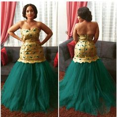 Nigerian Wedding Presents 2015 Aso-ebi colour combination ideas & styles 22