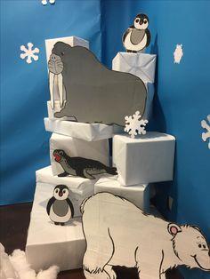 (notitle) – Ece Türemen – Join the world of pin Arctic Decorations, School Decorations, Snow Theme, Winter Theme, Operation Arctic, Winter Wonderland Decorations, Artic Animals, Fair Theme, Polo Norte