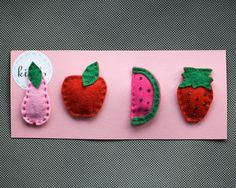 1000+ images about Felt and more... on Pinterest | Felt hair clips ...