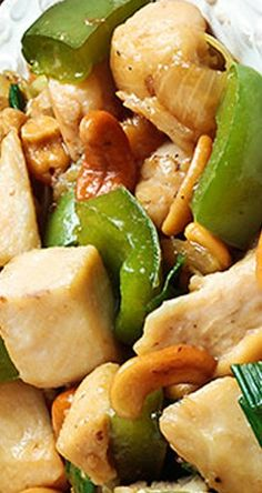 Cashew Chicken | gimmesomeoven.com