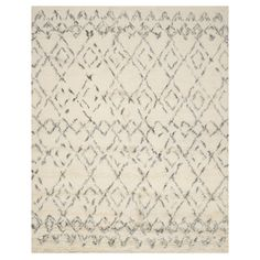 Safavieh CSB845A Casablanca White and Grey Area Rug