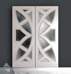 home decor 25 Wood Floor Design, Wooden Door Design, Mdf Doors, Iron Doors, Entrance Design, Entrance Doors, Contemporary Internal Doors, Single Door Design, Barn Door Designs